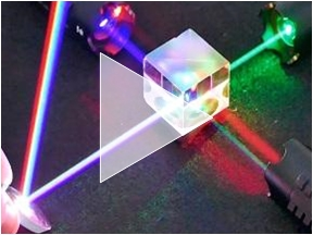 laser optics demo front